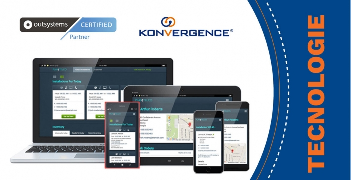 Konvergence is now partner of OutSystems low-code platform